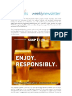 Weekly Newsletter #25 2012