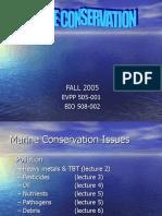 1 Marine Conservation