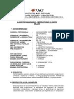 syllabus Algoritmos Avanzados-UAP
