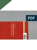 Hemenéutica y Fenomenología