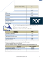 price list - web