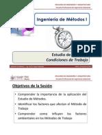 M3.2 IM I - USMP - Estudio de Métodos - Condiciones de Trabajo