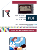 Blood Administration 2009
