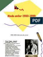 Moda Anilor 1900-1999