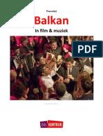 Themalijst Balkan in Film en Muziek
