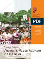 Strategic Mapping of Women's Peace Activism in Sri Lanka