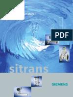Sitrans F, Pliant General Siemens, En
