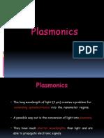 Plasmonics ppt