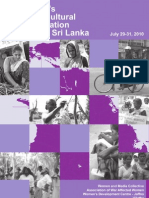 Women's Cross Cultural Consultation – Giritale, Sri Lanka
