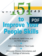 151 Quick Ideas to Improve Your People Skills