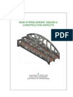 Bow-string Girder- Design & Construction Aspects