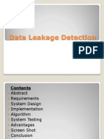 Data Leakage Detection