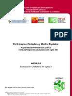 Curso Participación Ciudadana y Medios Digitales - Modulo II. Participacion Ciudadana Del Siglo XX
