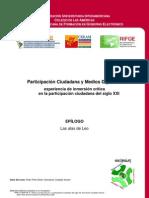 Curso Participación Ciudadana y Medios Digitales - Modulo III. Extra Epilogo