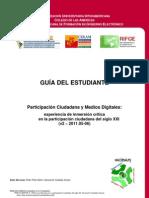Curso Participación Ciudadana y Medios Digitales - Guía del Estudiante