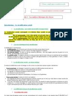 Fiche 1- Comment analyser la structure sociale -  Les analyses théoriques des classes