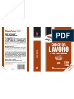 Codice del Lavoro Tribuna Pocket 2012