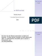 Apostila de Analise Multivariada