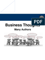Great Business Thoughts - Many Authors