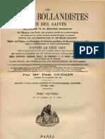 LES-SEPT-DORMANTS-DE-LA-CAVERNE-D'EPHESE-Acta-Sanctorum-Mgr-Paul-Guérin-Bollandistes-tome-Neuvième-1888