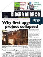 Kibera Mirror September