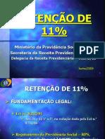 RETENCAO11%INSS