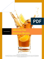 101 Iced Tea Cocktail Recipes