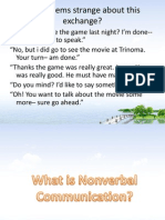 What is Nonverbal Communication (1)