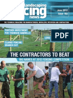 Fencing & Landscaping News June 2012
