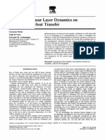 Influence of Shear Layer Dynamics On