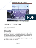 Voluntary Compliance