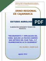 Estudio Agrologico Final