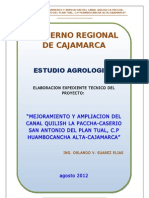 Estudio Agrologico Final