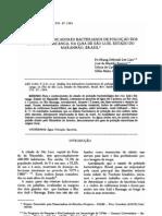 Análise dos indicadores bacterianos de poluição dos rios Anil e Bacanga, na Ilha de São Luís, Estado do Maranhão, Brasil