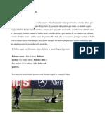 TÉCNICAS DEL PORTERO futbol