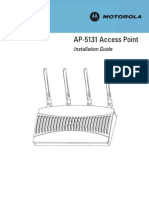 AP-5131 Access Point Installation Guide