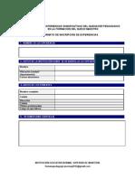 Formato de Inscripción de Experiencias Significativas Normal Superior de Montería