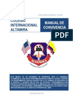 MANUAL DE CONVIVENCIA - Altamira International School