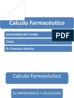 Calculo Farmacéutico, Introduccion ARC