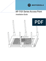 Motorola AP-7131 Series Access Point Installation Guide