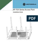 Motorola AP-7131 Series Access Point Installation Guide