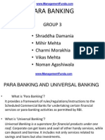 Para Banking by Management Fund A