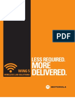 WLAN WiNG5 Brochure