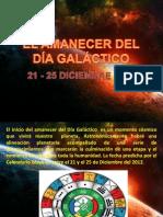 N° 1 EL AMANECER DEL DIA GALACTICO(1)