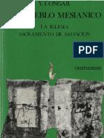 Congar, Yves - Un Pueblo Mesianico