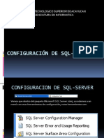 Configuracion SQL Server