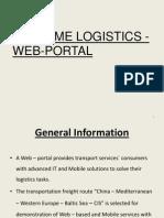 Maritime Logistics Web Portal 2