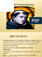 Thomas Aquinas PPT