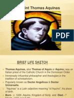 Thomas Aquinas PPT