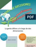 TOMA de DECISIONES (Estilos de Deciones)[1]